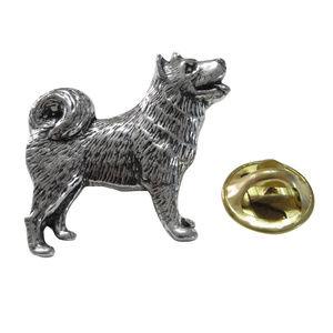 Husky Dog Lapel Pin